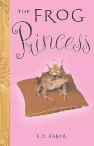 Frog Princess Book Cover